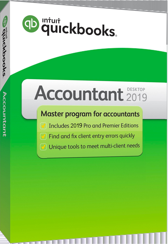 Quickbooks Desktop Accountant 2019