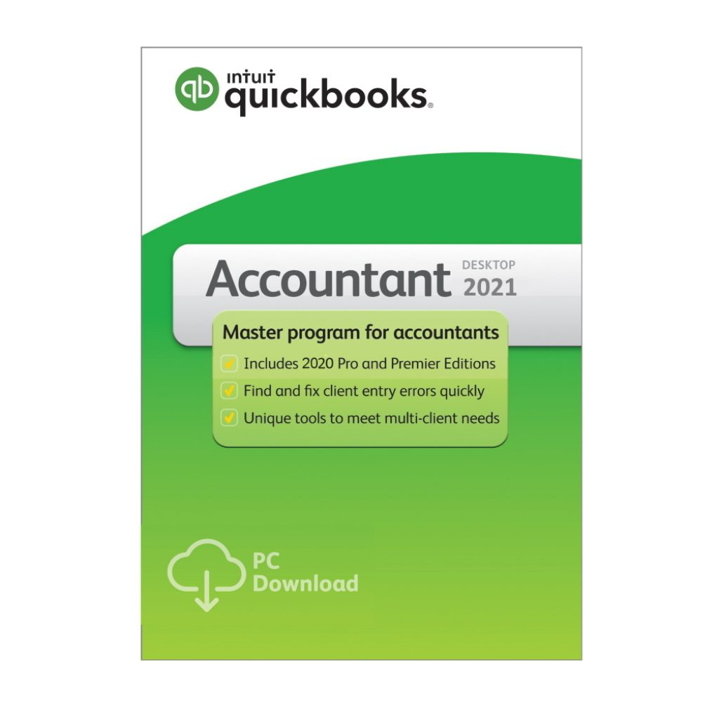 Qucikbooks Desktop Accountant 2021